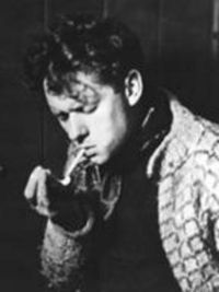 Welsh poet and writer Dylan Thomas