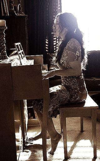 """Danielle Gasparro, """"Piano Sunlight,"""" Photo by Didi Gibbs"""